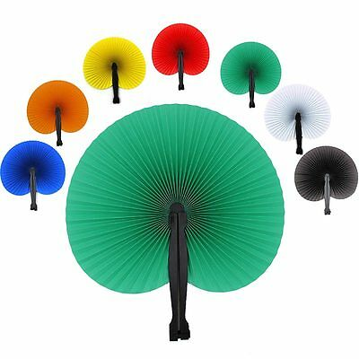 Paper Folding Hand Fan Chinese Loot//Party Bag Fillers Wedding favours  D Rs