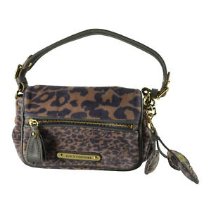 Image Is Loading Nwt Juicy Couture Small Phoebe Leopard Print Velour