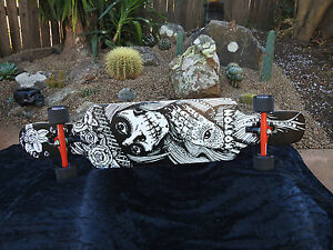 Image Is Loading Koston Pro Longboard Skateboard  Downhill Street Smart Abec9