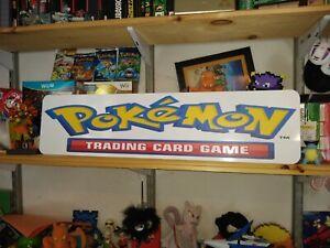 "Pokemon Trading Card Game Aluminium sign, 6""x24"" display, Pokemon TCG Sign!!!"