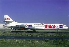 E.A.S. Europe Aero Service Sud SE-210 Caravelle 10B1R F-GFBA Aviation Postcard