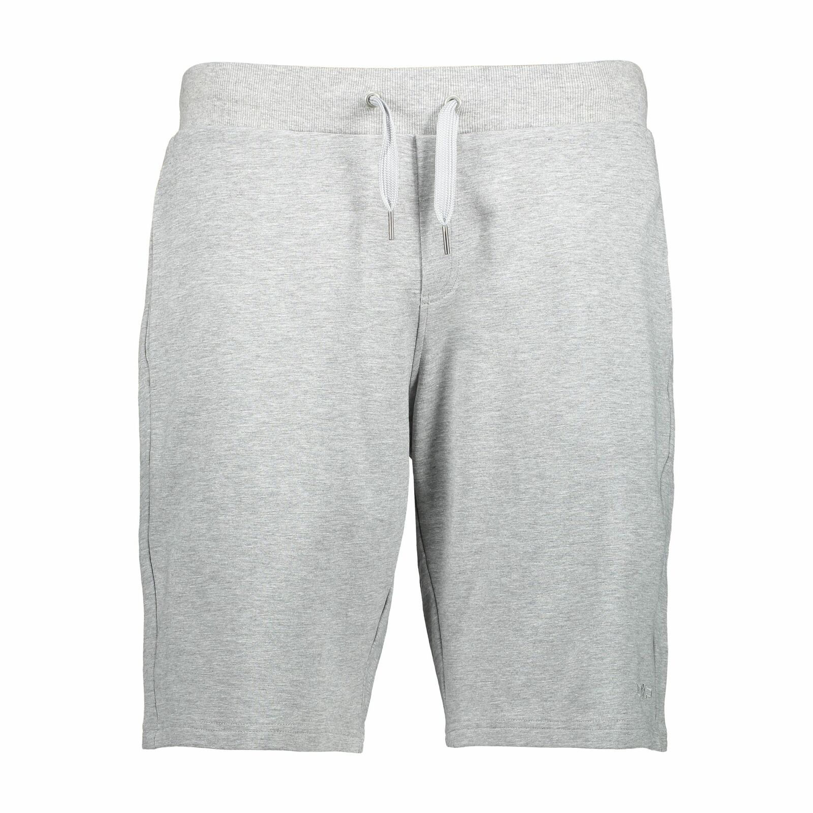 CMP Shorts Pantaloni Man Bermuda grey Melange Elasticizzato Terry Francese