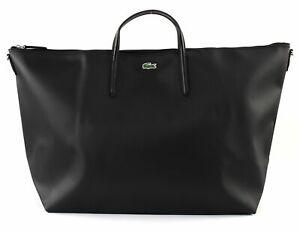 LACOSTE-L-12-12-Concept-Travel-Shopping-Bag-Shopper-Tasche-Black-Schwarz-Neu