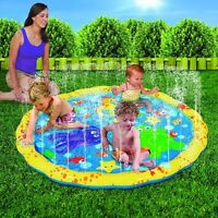 Sprinkle Play Mat Pool Splash Spray Water Fun Kid Toy Outdoor Baby Summer Gift