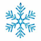 60cm Snowflake Rope Light 162 LED Christmas Indoor Outdoor Decoration Blue White