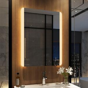 Details Zu Badspiegel Mit Led Beleuchtung Wandspiegel Badezimmerspiegel Bad Spiegel 60x80