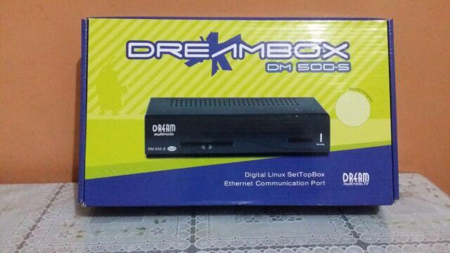 "Dream Multimedia Dreambox DM 500S Satellite Digital TV Receiver DVB Box  ""NEW"""