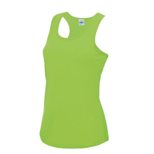 perfect for jogging Women/'s sports vest by AWDis Personalisation available!