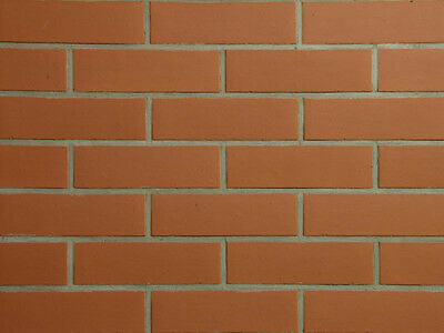 Heimwerker Sorte Fassadenklinkerriemchen Baustoffe & Holz Diplomatisch Klinker-riemchen Nf Malta Rot-uni Spaltriemchen 1
