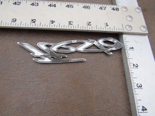 Ford FIESTA Chrome Plastic Rear Emblem NICE SHINE