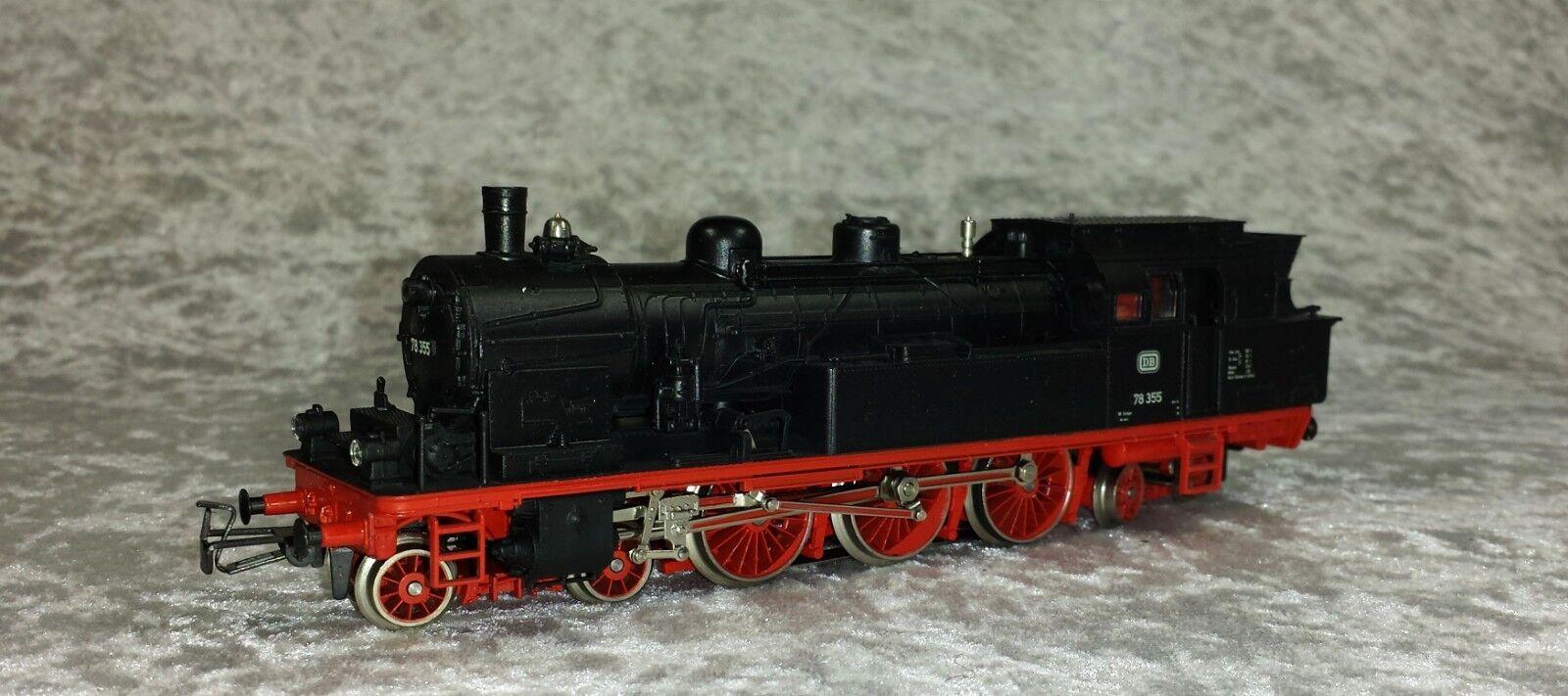 Märklin H0 3106 Dampflokomotive 78355 sehr guter Zustand OVP