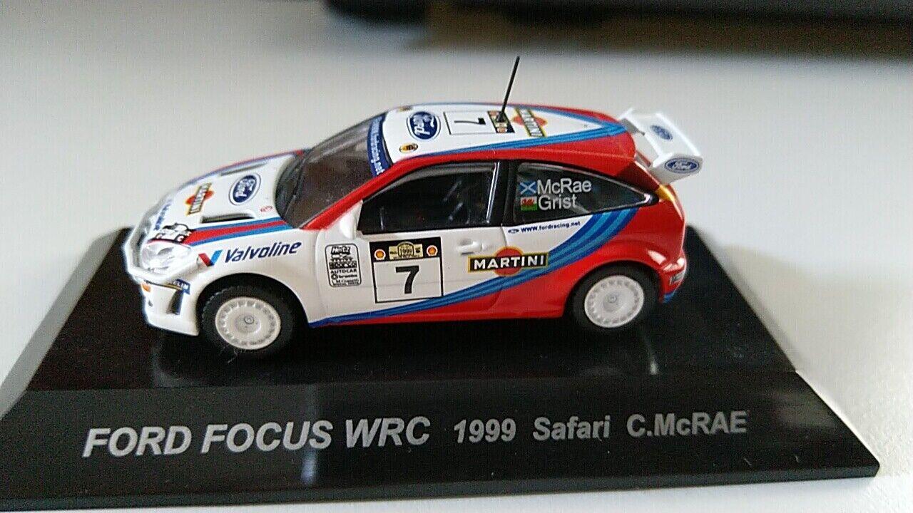 FORD FOCUS WRC 1999 SAFARY C. MCRAE RALLY 1 64 cm's