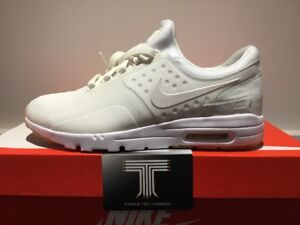 Nike AIR MAX ZERO 857661 105 UK 6 EURO 40