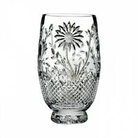Waterford Crystal Flora & Fauna Sunflower 10 Inch Vase
