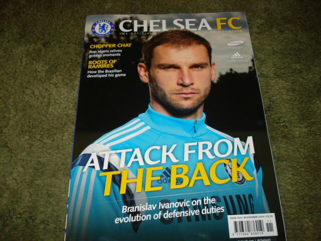 Official Chelsea Magazine November 2014 Issue 123 - Ivanovic Cover -New