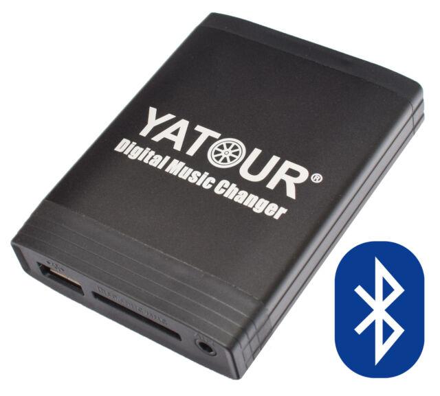 Bluetooth USB SD MP3 Aux In CD Wechsler Freisprecheinrichtung mit HU Radio