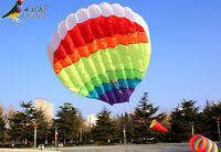2016new 3D 2.5M Color 1 Line Stunt Parafoil Hot Air Balloon Power Sport Kite out