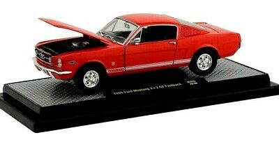 1965 Ford Mustang 2+2 GT Fastback Red 1//24 Limited 7,000 M2