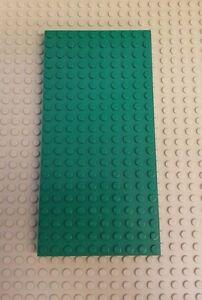 LEGO Brick Platform 700 eD  Vintage Green 10 X 20 Block Cross Support /& Tubes