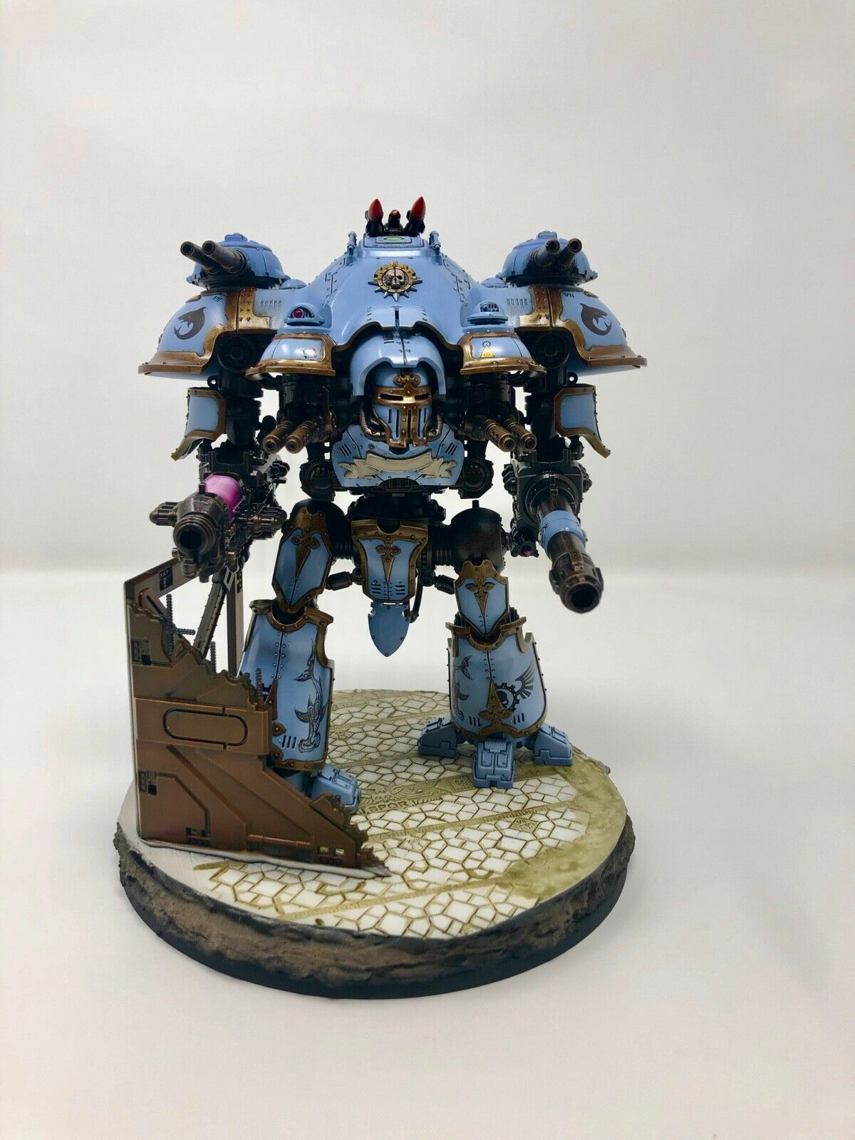 Games Workshop 40K    Imperial Knight Castellan Well Painted 9da2cb