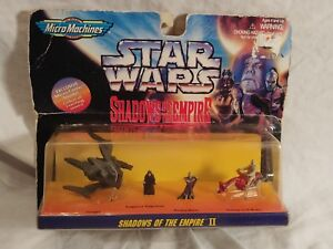 MICRO MACHINES STAR WARS PRINCE XIZOR/'S VIRAGO Shadows of the Empire Galoob