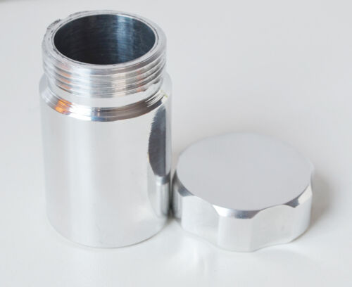 33mm ID 38mm OD Aluminium Weld On Filler Neck With Cap Fuel Oil Tank
