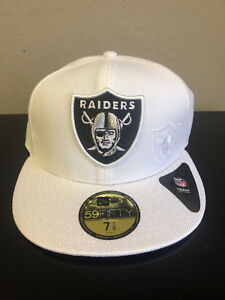 buy popular 25587 ed2a4 Image is loading Oakland-Raiders-2016-New-Era-59Fifty-Official-NFL-