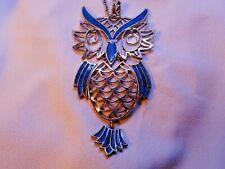 "Big Eyes Charming Owl Head Metal Button 1/"" x 3//4/"" Adorable Owl Button"