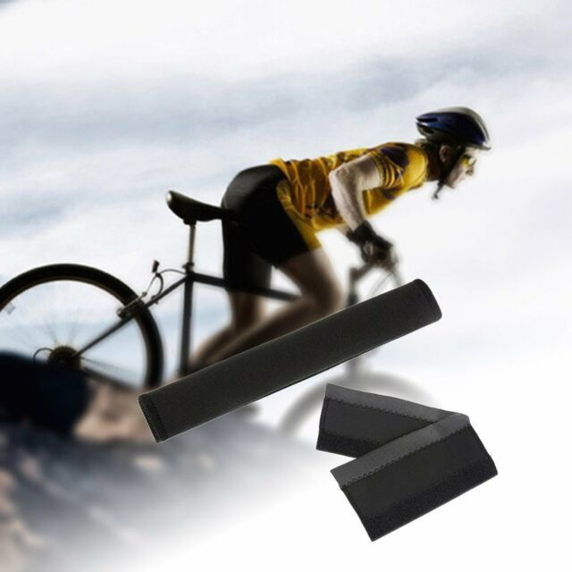 Neoprene Bike Bicycle Frame Protector Chain Stay Guard Cover Sleeve Pad AZ