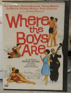 Where-the-Boys-Are-DVD-2004-RARE-CONNIE-FRANCIS-1ST-MOVIE-1960-COMEDY-NEW