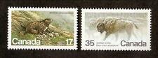 Canada--#883-84 MNH--Endangered Wildlife--1981