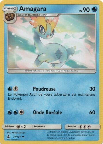 vf french Pokemon-amagara x2-rare-sl6-27//131