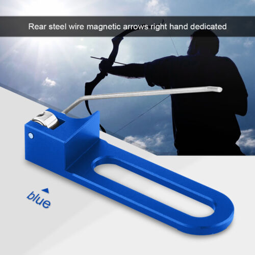 Professional Aluminum Archery Recurve Bow Magnetic Arrow Rest For Right Hand