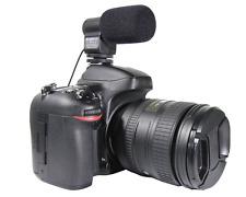 MIC-109 28cm Stereo Microphone for Canon 7D 5DIII 60D Nikon D7000 D800 D3100 D90