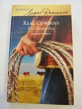 Roz Denny Fox, Real Cowboys (2007 Paper-back ) (GS20-4)