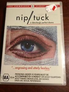 NIP-TUCK-Complete-First-Season-Julian-McMahon-New-Sealed-5-DVDs-R4-PAL
