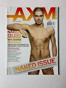 AXM Magazine October 2008 - Max George, Jonathan Ansell