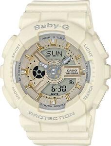 Casio-Baby-G-Womens-Wrist-Watch-BA110GA-7A2-BA-110GA-7A2-Gold-Accent-Analog-Digi