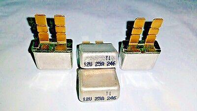 Qty-2  25 amp 12 volt ATC//ATO type 1 auto reset circuit  breaker fuse 2 pc  lot
