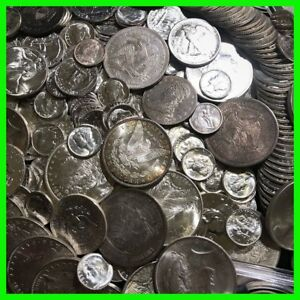 90 Silver Us Coins Lot Unc Old Estate Sale Lot Hoard Pre 1964 Bullion Gold Ebay