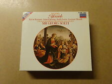 2 CD BOX / HANDEL, SIR GEORG SOLTI: MESSIAH (DECCA)