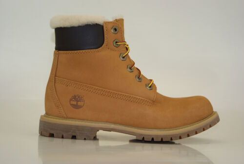 Icon impermeables Premium Boots Inch de mujer invierno Botas para 6 Timberland Lambskin dzqB7d