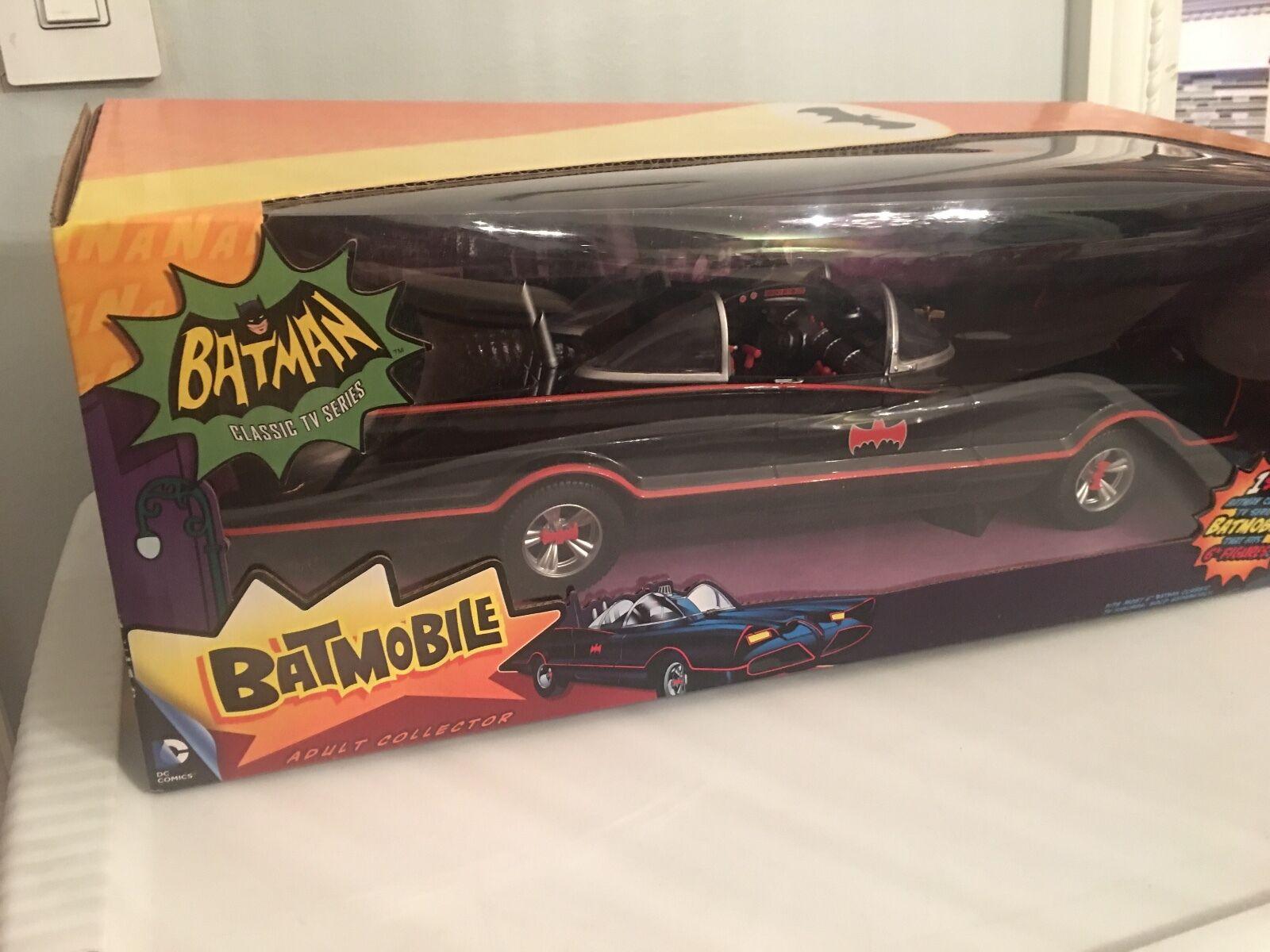 DC COMICS   BAThomme 1966 CLASSIC TV SERIES BATMOBILE FOR 6  SCALE FIGURES MATTEL  magasin en ligne