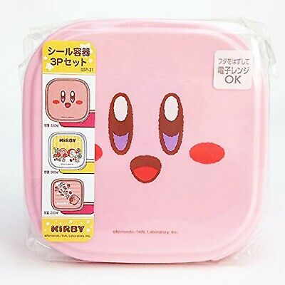 Kirby of the Stars Stainless Lunch Pot 2 set