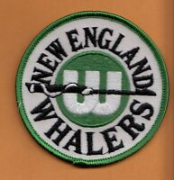 Nhl Old Hartford England Whalers Logo 3 Inch Patch Unused Stock