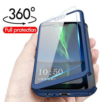 For Huawei Nova 5t 3i 2i Nova 3 360 Full Protect Matte Case Cover Tempered Glass Ebay