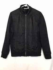 Calvin-Klein-Mens-Black-Full-Zip-Jacket-Size-S
