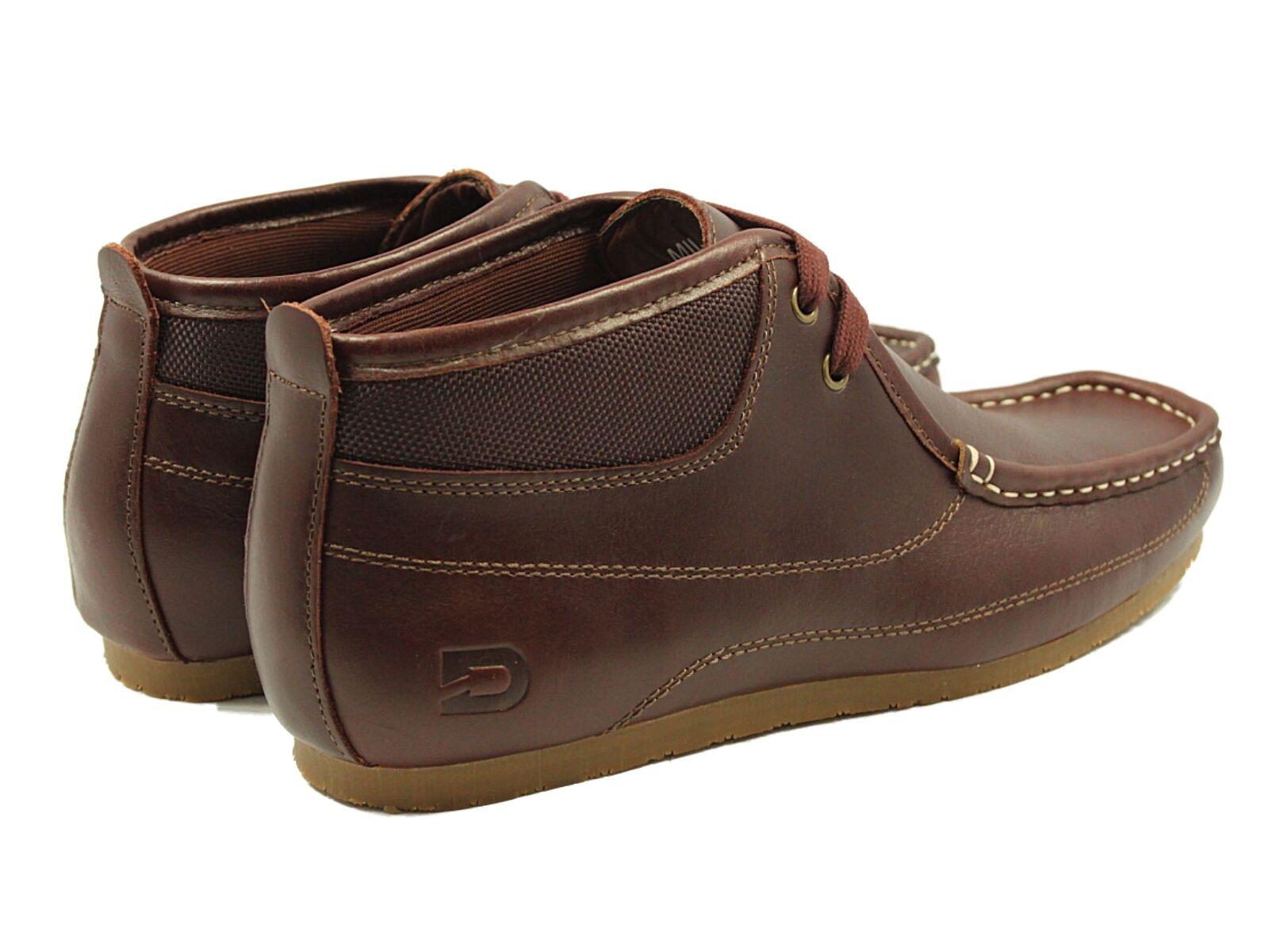 Nicholas Deakins homme UK 6-9 Mildert 2 Rouge Brun Chaussures en Cuir Bottes Casuals
