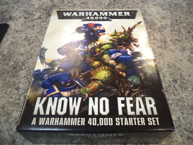 Know No Fear Starter Set - Warhammer 40k 40,000 Games Workshop Model New