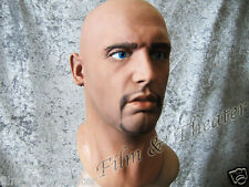 DEREK MASK + EYES - Realistic Male Latexmask, Latexmaske Effect, Rubber Gum Man